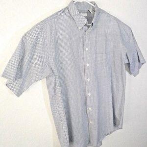 Covington Button Front Shirt XLT 46-48